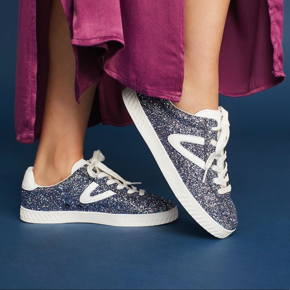 Tretorn Camden Glitter Sneakers
